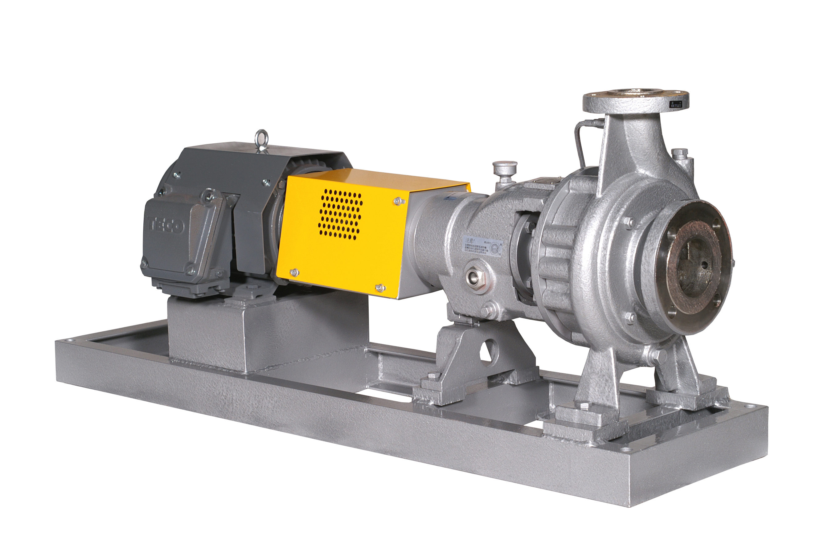 AOH ANSI Standard Process Pump (Open Impeller)